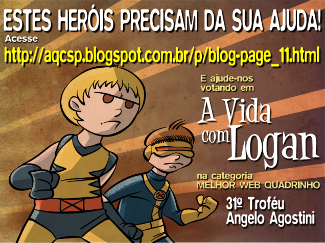 Vote no A Vida com Logan