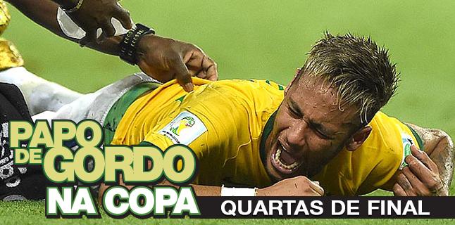 Podcast Papo de Gordo na Copa 2014 - Ep. 05 - Quartas de final