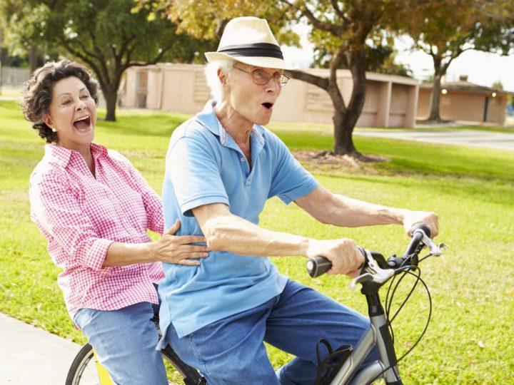 Ensinando a pedalar