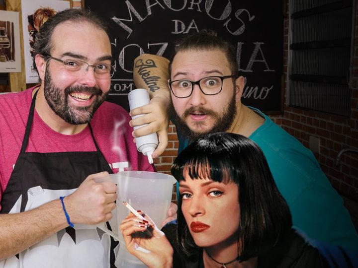 MAGrOS DA COZINHA 05 – Milkshake 5 Dollar de Pulp Fiction