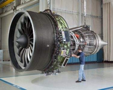 turbina de aviao