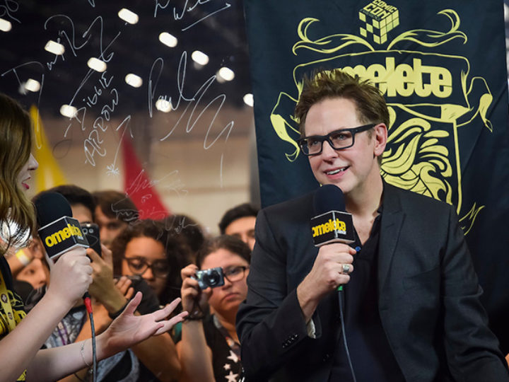 James Gunn diz que a CCXP é a melhor Comic Con que já participou