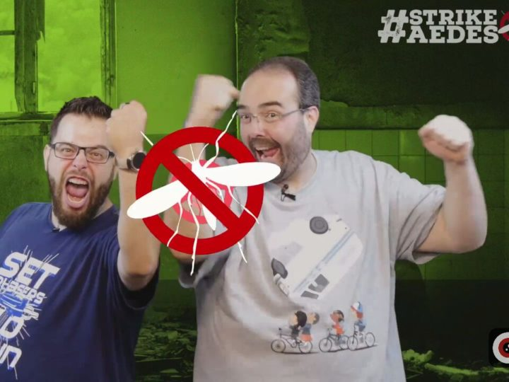 #StrikeAedes – o game show mais divertido da internet!