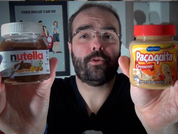 Vlog 008 – O que é melhor? Nutella ou Paçoquita?