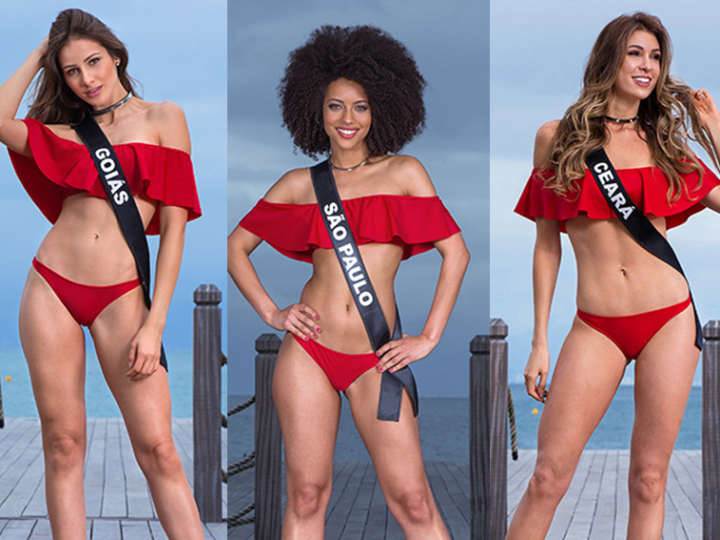 Conheça as candidatas ao Miss Brasil 2017