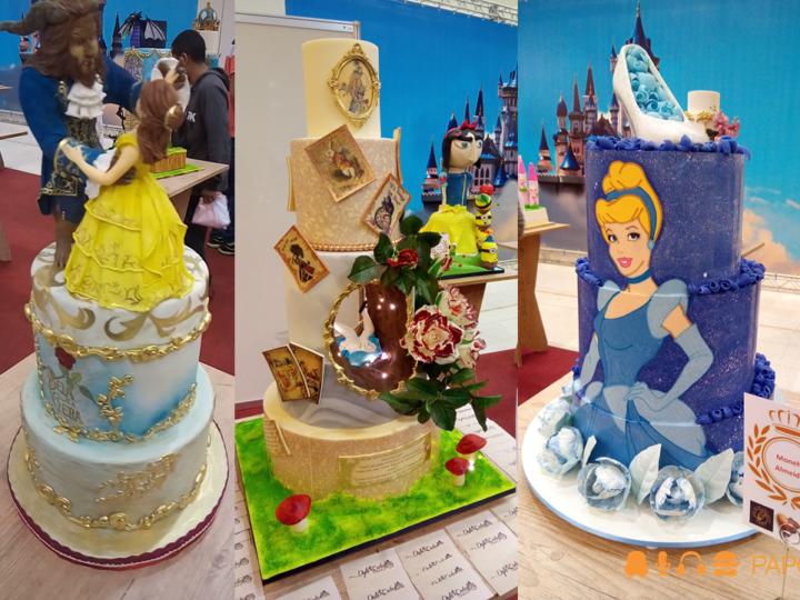 Muitas delícias e bolos lindos na Cake Design Expo e na Expo Brasil Chocolate 2017