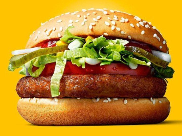 Hambúrguer vegano no McDonald's?