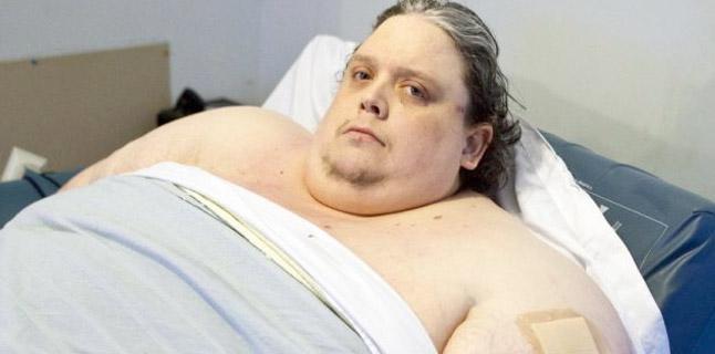 O homem mais gordo do mundo pesa 368kg