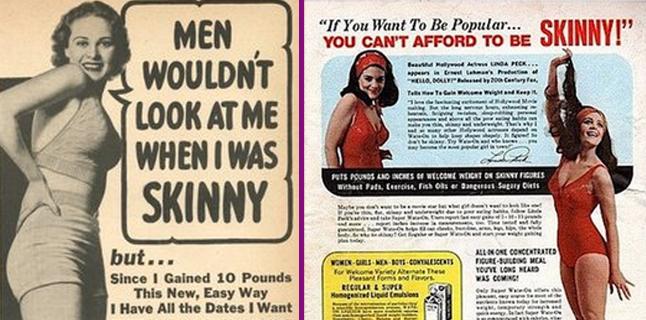 Homem não gosta de mulher magrela!