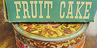 Quanto você pagaria por um bolo de frutas feito em 1941?