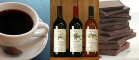 Café, vinho e chocolate fazem bem?