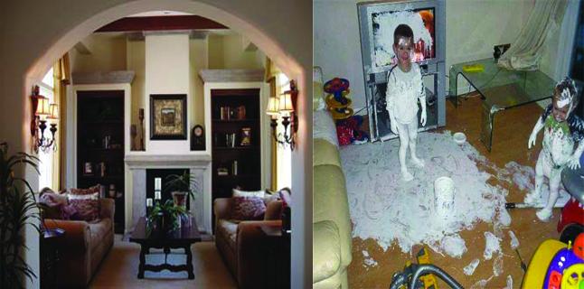 Confissões de uma Mil em Uma: por que minha casa tem que estar perfeita?