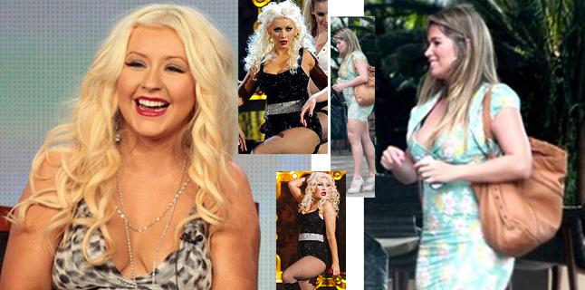 Christina Aguilera e Fani podem virar gordinhas yeah yeah?
