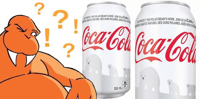 Coca-Cola desiste de latinha branca comemorativa