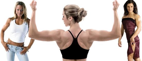 """Corpo feminino """"ideal"""" agora é com músculos evidentes"""