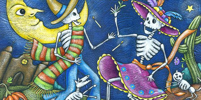 Dia dos Mortos ou Halloween?