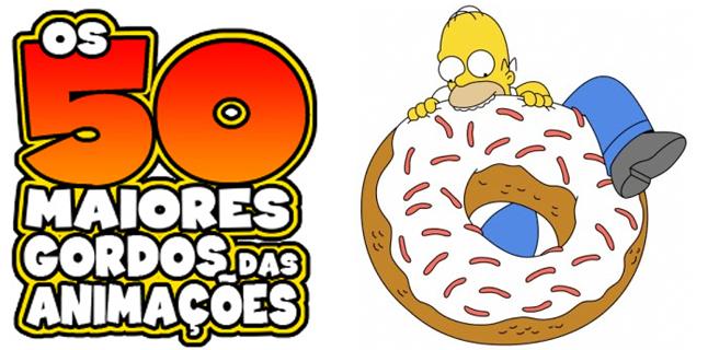Os 50 maiores gordos das animações: Homer Simpson