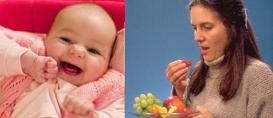 Má alimentação durante a gravidez é risco para bebê