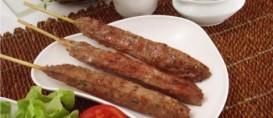 Churrasco de carne moída: Kafta no espeto