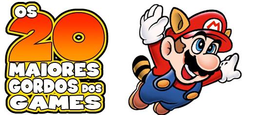 Os 20 maiores gordos dos games: Mario