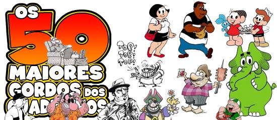 Os 50 maiores gordos dos quadrinhos: Brasil-sil-sil!