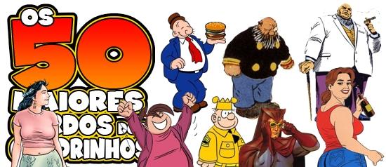 Os 50 maiores gordos dos quadrinhos: visão geral