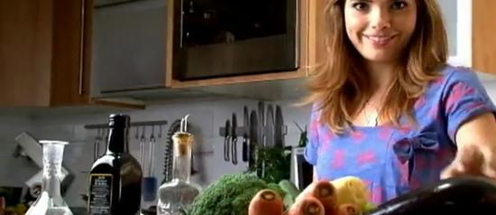 Vanessa Giácomo ensina a fazer comida para crianças