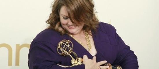 Melissa McCarthy: uma gordinha no Emmy