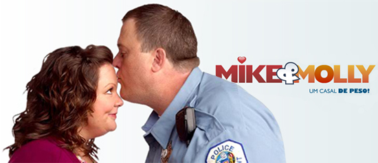 Mike & Molly: casal de gordinhos na TV