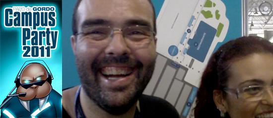 Papo de Gordo na Campus Party 2011 – bastidores e erros de gravação