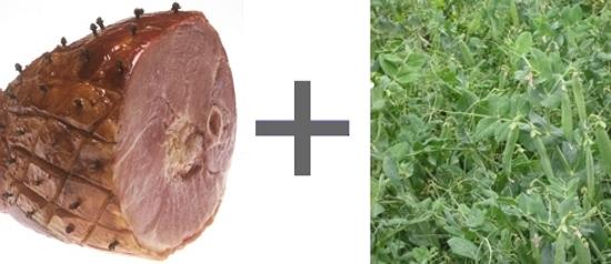 Um presunto feito com… legumes!?