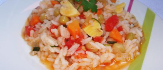 Risoto colorido: fácil, rápido e delicioso