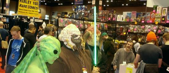As convenções nerds
