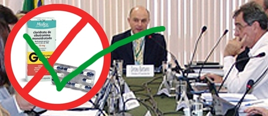 Anvisa desiste de proibir a venda de sibutramina no Brasil