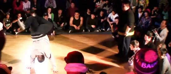 Gordinhos mandam bem no street dance!