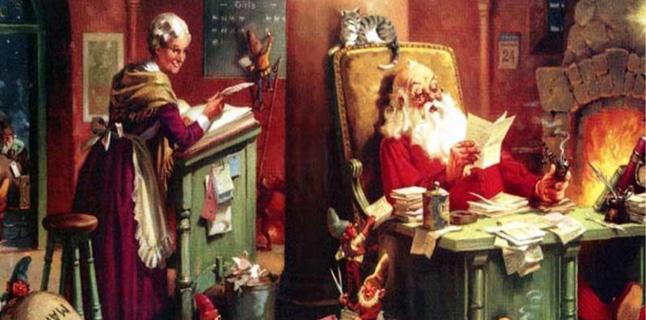 Seja Papai Noel você também!